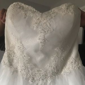 New Unaltered Bridal Gown!